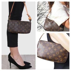 Auth Louis Vuitton Pochette Shoulder Bag #1654L16